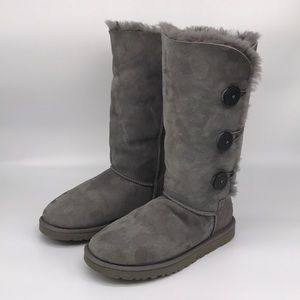 UGG 'Bailey' Button Triplet Boots